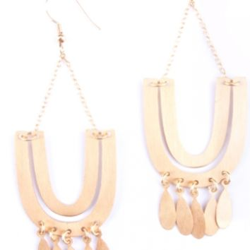 Mantra Statement Earrings