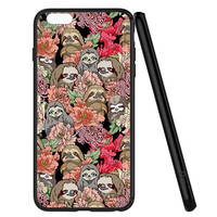 Because Sloth Flower iPhone 6 | 6S Case Planetscase.com