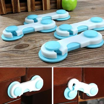 20pcs/Set Doors Drawers Lock  Protection from Children Child Baby Safety Plastic Cabinets Cover Baby Security Locks Products