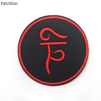 5pcs/lot Patchfan Supernatural SPN applique patches stickers sewing bag jersey clothing para jacket badges iron on t-shirt A0823