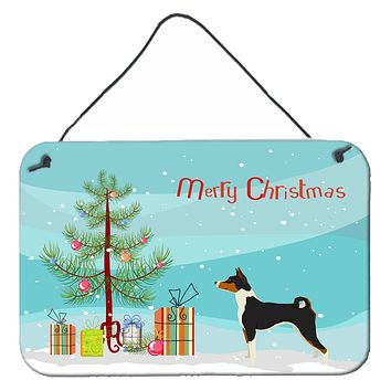 Basenji Christmas Tree Wall or Door Hanging Prints CK3517DS812