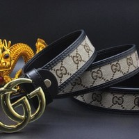 Gucci Belt Men Women Fashion Belts 503945