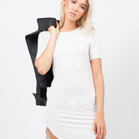 Rayon T-Shirt Dress
