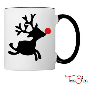 rudolph the red nosed reindeer right Coffee & Tea Mug