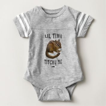 Lil Tiny Baby Design by Kat Worth Baby Bodysuit