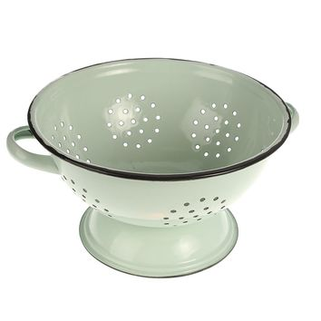 Park Hill Collection Enamel Collander