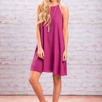 Right On Time Dress, Purple