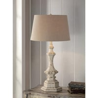 Crestview Collection Crestview Cvaup739 Wooden Column Table Lamp