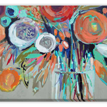 Erin Gregory, Efflorescence VI, Paintings
