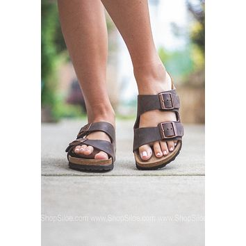 Arizona Oiled Leather Soft Footbed | Tobacco Brown