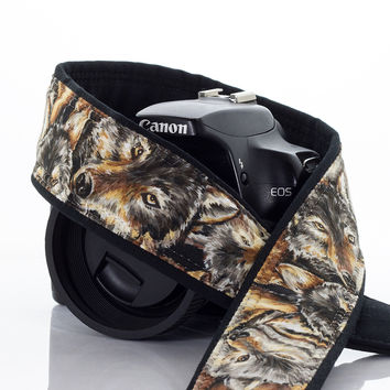 218 Wolf Pack Camera Strap