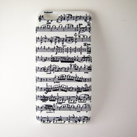 Music Note iPhone 6 Case, iPhone 6s Case, iPhone 6 Plus, 6s Plus, iPhone 5, iPhone 5s, iPhone 4/4s Case, Phone Cover