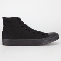 Converse Chuck Taylor Hi Mens Shoes Black/Black  In Sizes