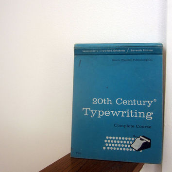 20th Century Typewriting - A Complete Course - 50s