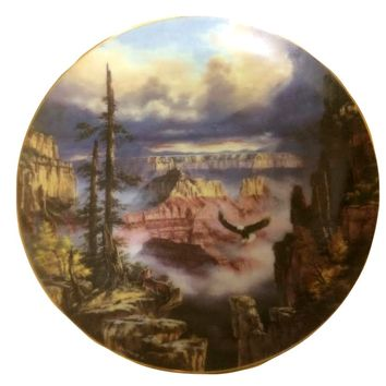 Grand Canyon 'Where Eagles Soar' Limited Edition Collector Plate