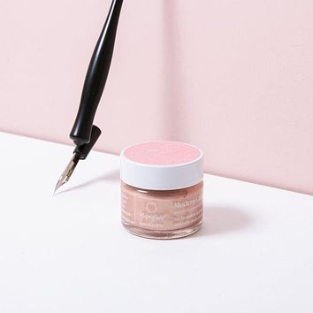 Rose Gold Calligraphy Ink