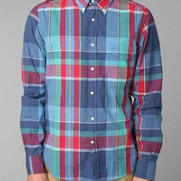 GANT Rugger Madras Pencil-Pocket Shirt- Blue S
