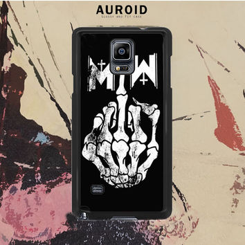 Motionless In White Samsung Galaxy Note 4 Case Auroid