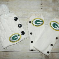 Packers Leg Warmers and or Beanie