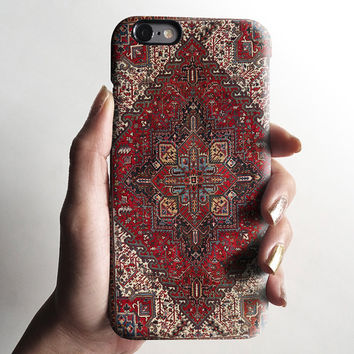 Persian carpet Phone 6s case, iPhone 6 case, iPhone 6 plus case, matte iPhone 5s case, iPhone 4s case, Christmas gift 076