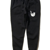 RIPNDIP Falling For Nermal Black Joggers Sweatpants