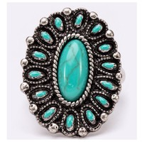 Stunning Turquoise Iconic Stretch Ring