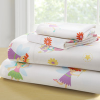 Olive Kids Fairy Princess Toddler Sheet Set - 92417
