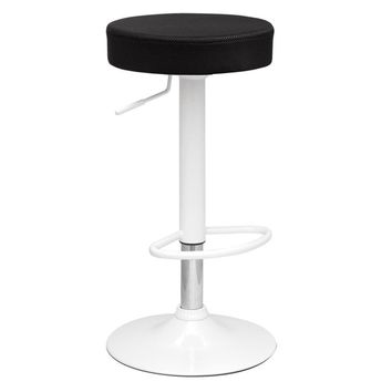 Angle Bar Stool, Black