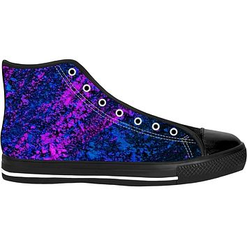 Blue And Purple Colorfest High Tops