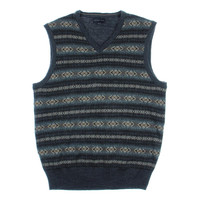 Geoffrey Beene Mens Knit Pattern Sweater Vest