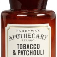 Paddywax Tobacco & Patchouli Candle