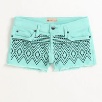 Roxy Carnivals Embroidered Shorts at PacSun.com