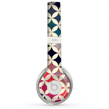 The Overlapping Retro Circles Skin for the Beats by Dre Solo 2 Headphones