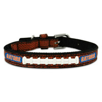 NCAA Florida Gators Classic Leather Football Collar, Toy