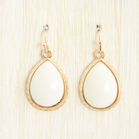 Ivory Aurora Dangle Earrings - Earrings