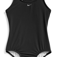 Girl's Nike 'Core' Racerback One-Piece Swimsuit
