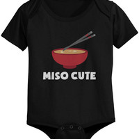 Miso Cute - Funny Graphic Statement Onesuit / Infant T-shirt