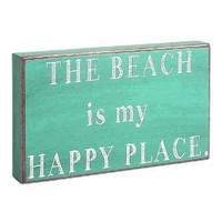 Collins Beach is My Happy Place Decorative Box Sign