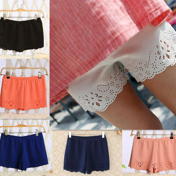 New 2016 Women's High Waist Shorts Summer Casual Shorts Short Hot