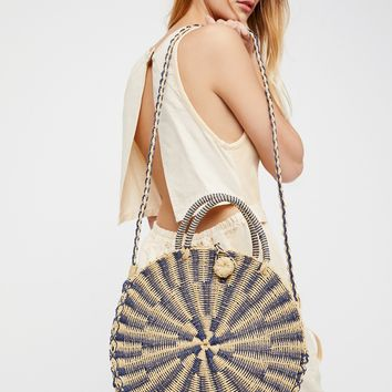 Free People Waikiki Straw Tote