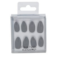 Blackheart Beauty Black Matte Drip Faux Nails