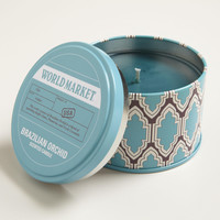 Brazil Orchid Travel Candle Tin