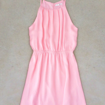 Sweet Spring Dress in Petal