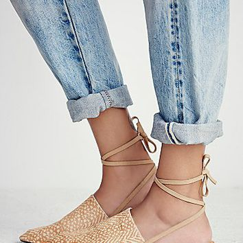 Faryl Robin + Free People Womens Freefall Flat