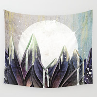 My magical beans garden Wall Tapestry by happymelvin