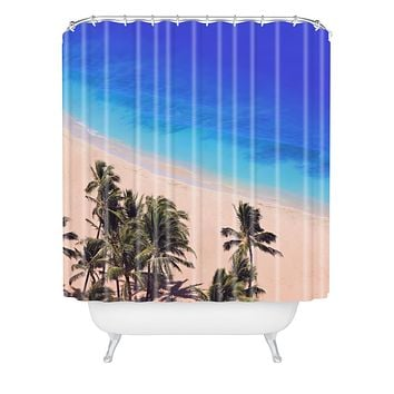 Leah Flores Hawaii Beach Shower Curtain
