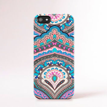 Bohemian iPhone case Neon iPhone 4 case iPhone 4s case Cute iphone case Ethnic Pattern iPhone 5s case Pastel iphone 5 case boho iPhone Case