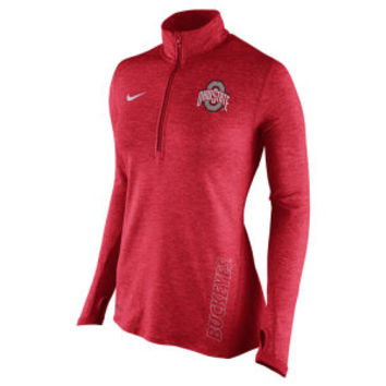 Nike NCAA Women's Stadium Element 1/4 Zip Pullover Shirt