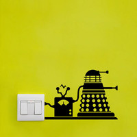 Dr Who / Doctor Who Recharging Dalek Vinyl Decal - Wall