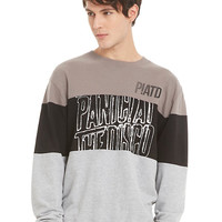 Panic At The Disco Color Blocked Sweatshirt